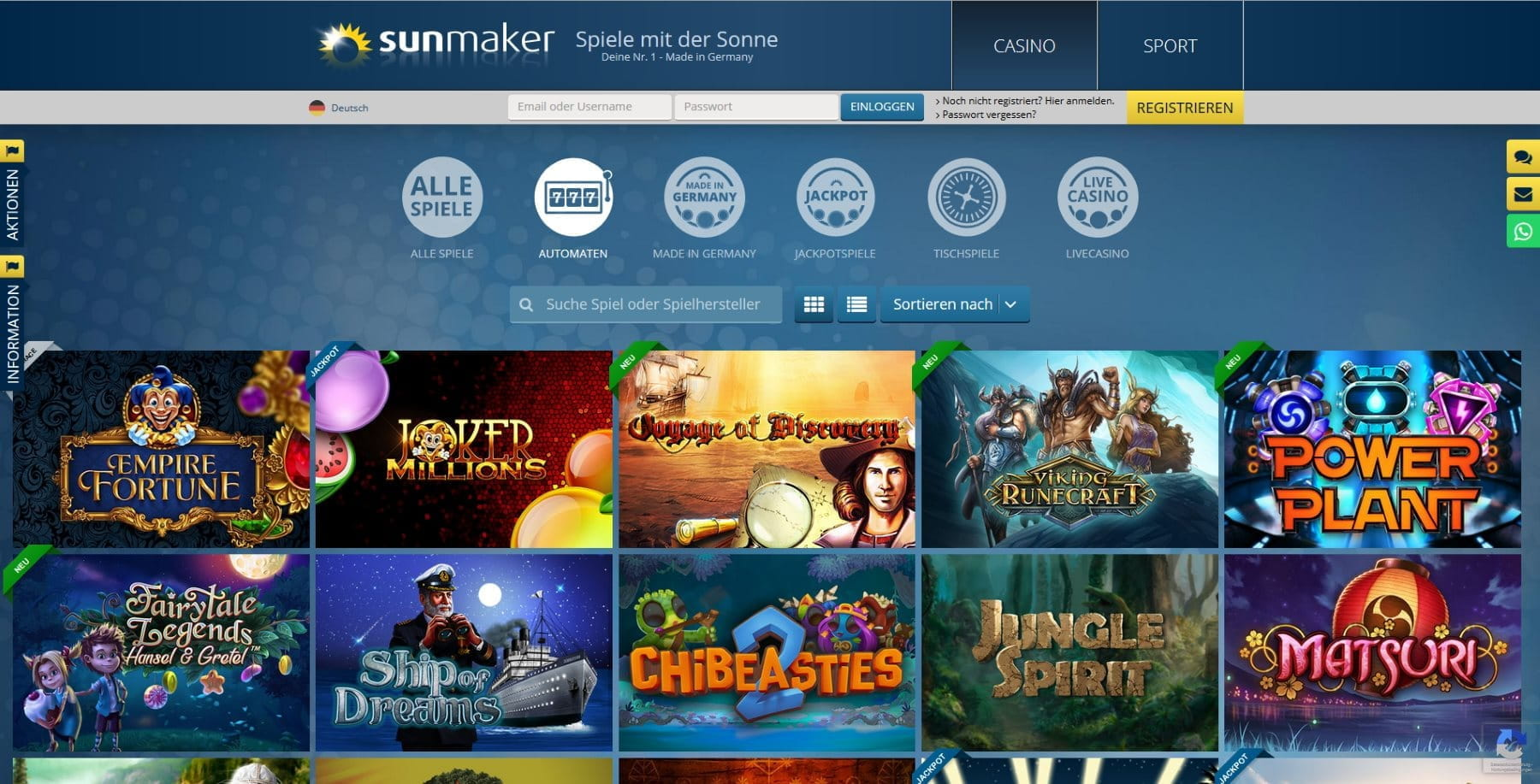 Online spielcasinos test gerties gambling hall
