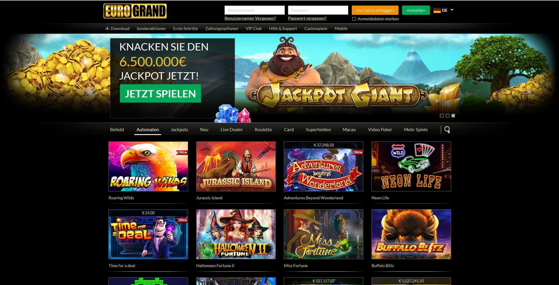 Eurogrand online casino test seattle wa casino hotel