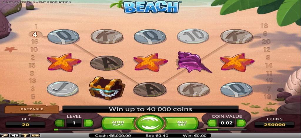 Beach Online Slot
