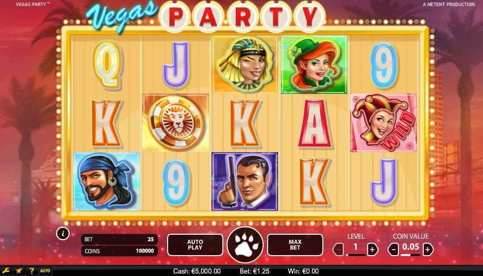 Vegas Party Online Slot