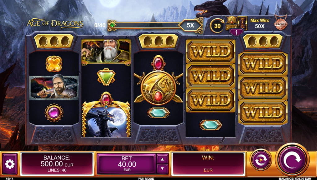 Age of Dragons Online Slot