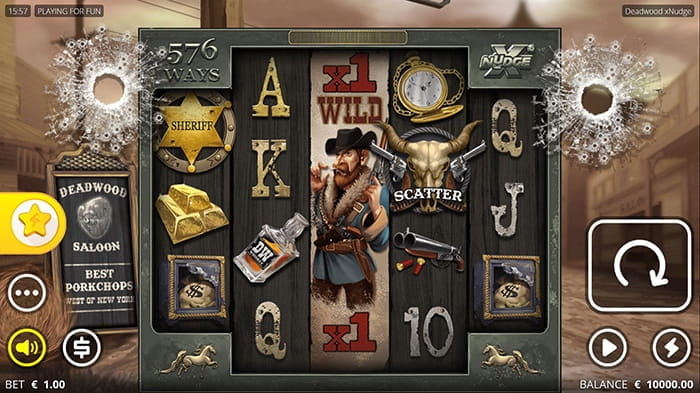 Deadwood online Spielautomat - Nolimit City