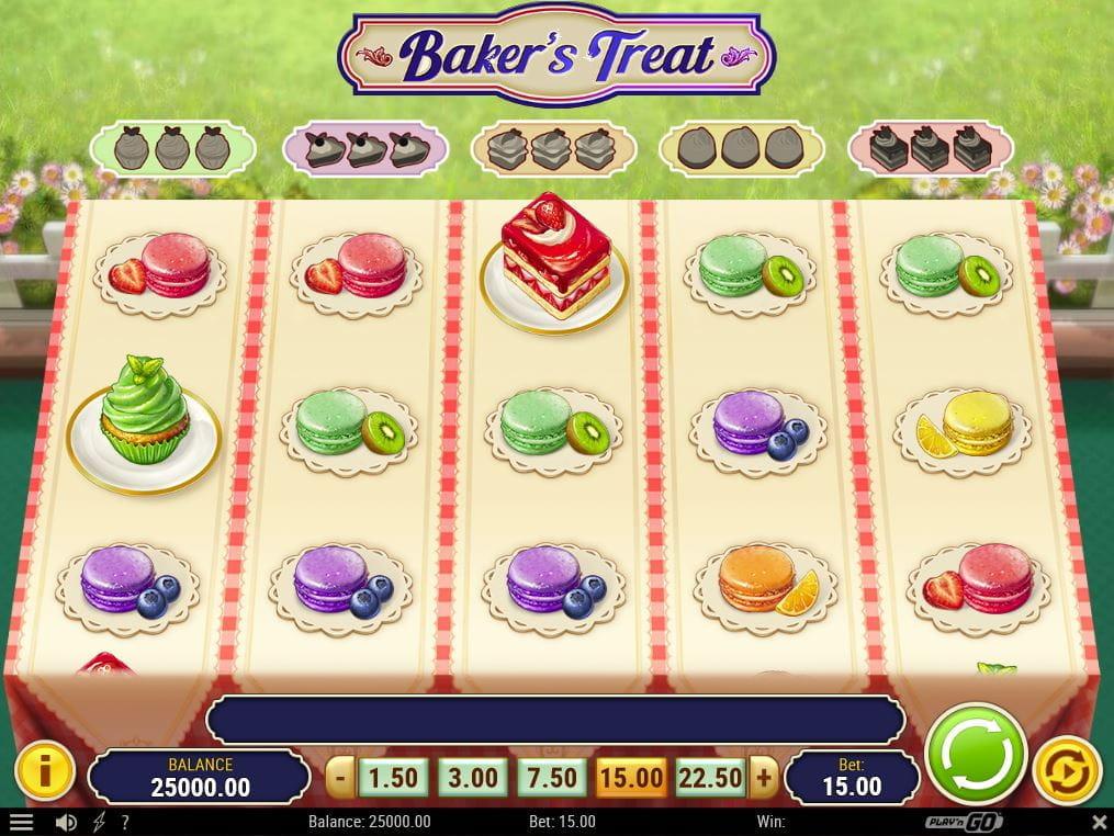 Baker's Treat online Casinospiel