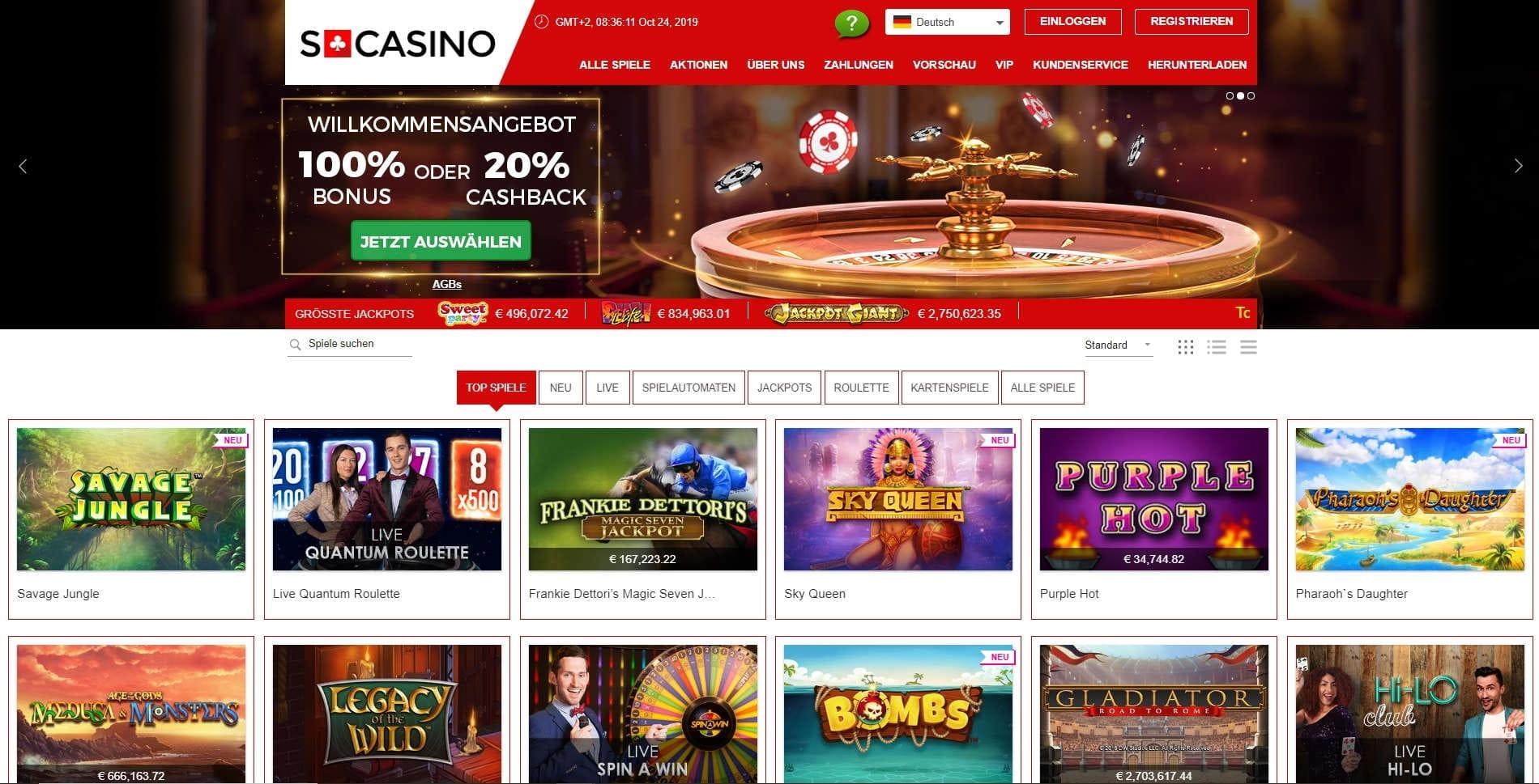Online Casino Grunden